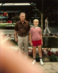 Dad and I - Chattanooga Choo-Choo, July 4, 1985