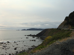A stunning view of the Pacific in Port Orford, Oregon