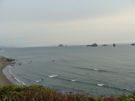 Yet another nice shot of the Pacific in Port Orford...