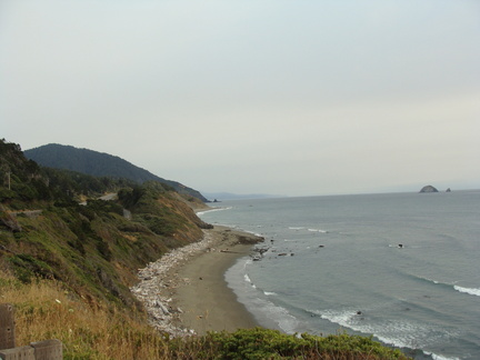 Another scenic shot in Port Orford...