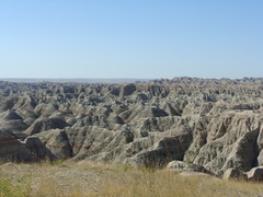 The Badlands. Surprisingly beautiful.