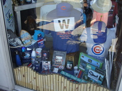 Chicago Cubs paraphernalia for sale in Avolon, Catalina Island