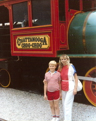 Mom and I - Chattanooga Choo-Choo - July 4, 1985